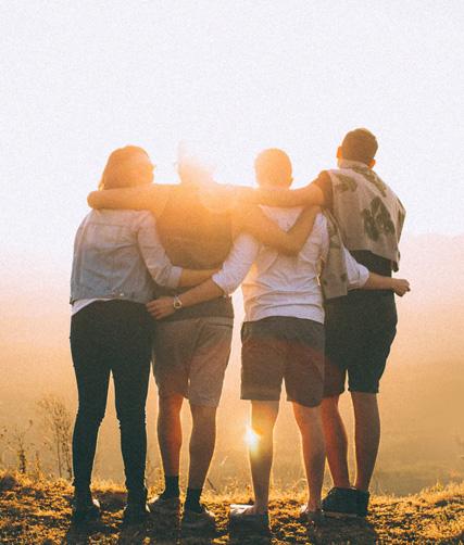 Los cuatro tipos de amigos